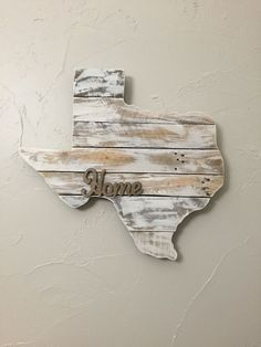 Texas Pallet State Cutout: Size Options Avail by Crosswoodworks on Etsy