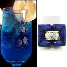 Thirsty Thursday with Lapis Lazuli & Electric lemonade via the always fabulous @TACORI