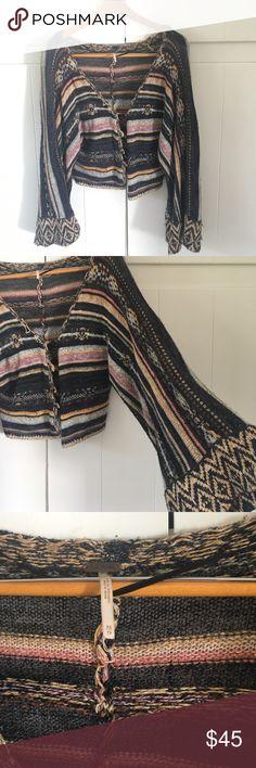 Free People short boho 70's inspired jacket. Free People short boho 70's inspired jacket. Free People Jackets & Coats