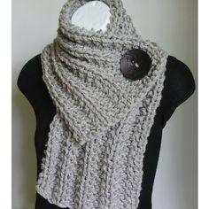 Crochet Scarf. Love!