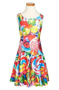 Zara Terez 'Lollipop' Skater Dress (Big Girls) available at #Nordstrom