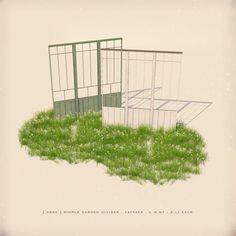 https://flic.kr/p/SJvC8f | [ keke ] simple garden divider |  ★ click to [ keke ] ★  and MP