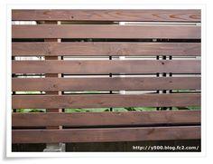 フェンスの材料と総金額8