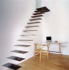 The staircase reminds me of an optical illusion.