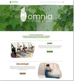 Sitio web responsive para Omnia, estudio de yoga y de kinesiología de Buenos Aires, por soytandem.com.ar