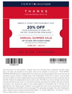 Coupon Tommy 0607