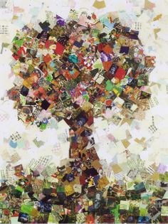 Tree of Life, collage by Maggie Yowell