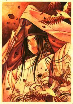 Fujiwara no Sai, from Hikaru No Go.