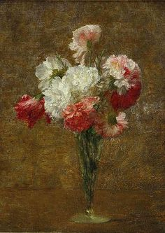 Victoria Dubourg Fantin-Latour Vase of Flowers ... - still life quick heart: