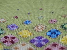Floating Flowers, Stitch Kit, Cross Stitch, Blanket, Crochet, Punto De Cruz, Crochet Crop Top, Crossstitch, Rug