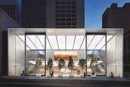 Apple s'est installé dans les anciens locaux de Levi's, en plein coeur commerçant de San Francisco.