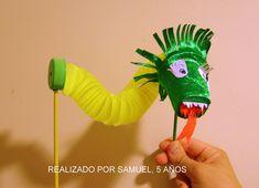 marioneta hecha con tubos de carton - Buscar con Google