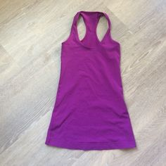 Lululemon Top Stretchy material, I would say it fits up to a size 6 comfortably. lululemon athletica Tops