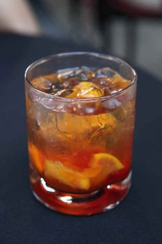 An Old-Fashioned | 21 Cocktails You Should Learn To Make In Your Twenties