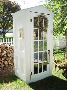 OMG!! I love this little garden shed.   Almost-Free Outdoor Updates : Outdoors : Home & Garden Television