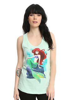 Disney The Little Mermaid Illustrated Girls Tank TopDisney The Little Mermaid Illustrated Girls Tank Top, MINT