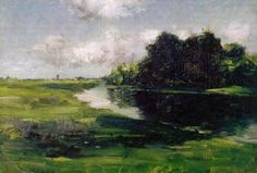 Long Island Landscape after a Shower of Rain - William Merritt Chase - The Athenaeum