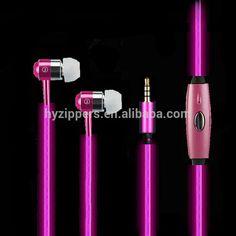 Latest Fashion Unique Earphones El Glowing In Ear Earphone With Mic - Buy El Glowing Earphone,Glow In The Dark Headphone,Unique Earphones Product on Alibaba.com