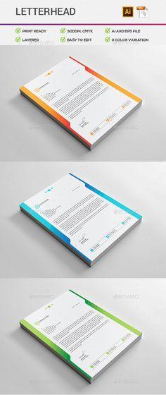 Business Letterhead Designs Custom Company Letterheads USA - business letterhead