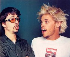 Dave and Taylor - Foo Fighters