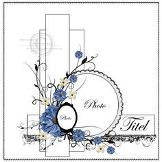 beautifully embellished layout sketch