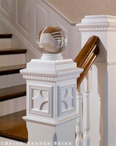 Design: Siemasko + Verbridge; Brian Vanden, Banister Glass Ball