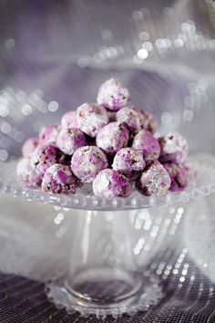Sparkly Sugar Plums~ Cupcake Project
