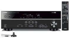 Yamaha 3D-Ready 5.1-Channel 500 Watts Digital Home Theater Audio Video Receiver with 4K pass-through, YPAO Sound Optimization, HD Audio Decoding, 17 CINEMA DSP programs, Multi Language Display, SCENE for One-Touch Start, Subwoofer Trim, Adaptive Dynamic Range Control, 40-Station Preset Tuning, Sleep Timer, Compressed Music Enhancer & Front Panel USB Digital Port to Control, Cha.... $229.95. Home Theater A/V Receiver Features5-channel powerful surround sound (100W per Chan...