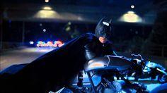 The Dark Knight Rises - Batman's First Appearance[HD]