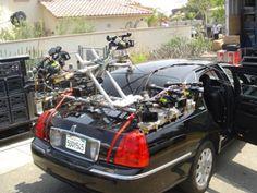 nine camera car rig