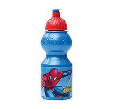 Perhaps your little Spidey already has a favourite lunch box – if so, he can keep his drinks cool in this spill-free waterbottle. #BackToSchool