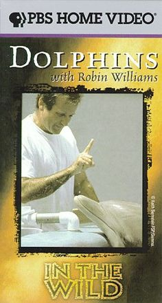 In the Wild - Dolphins With Robin Williams, PBS - Playful, gentle & inquisitive, dolphins are among the most endearing of wild animals - & Robin Williams may be their perfect human counterpart. Williams, whose adventure takes him to the Bahamas & Hawaii, talks with research experts & attempts to communicate with dolphins in captivity. This entertaining and touching program reveals Robin Williams as the hilarious performer we know, and as a curious, sensitive investigator.