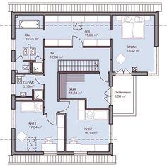 Haus Nelsen – Dachgeschoss