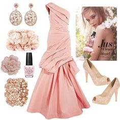 Pretty In Pink Prom 2012, created by hmb213 on Polyvore