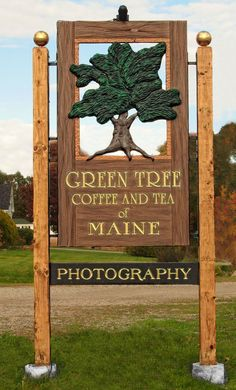 Sign handmade in Maine