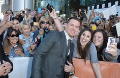 Pin for Later: This Week's Can't-Miss Celebrity Photos  Channing Tatum posed for some pictures at the Toronto International Film Festival.