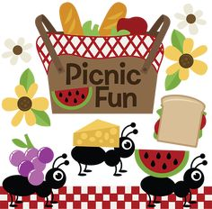 Picnic Fun SVG cutting files for scrapbooking picnic svg cut files free svg files free svg cut files