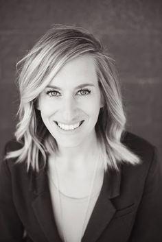 T.C. MARTINSEN Photography: HEADSHOTS professional business portraits Utah Idaho female black and white
