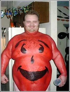 I'm The Kool Aid Man ---- funny pictures hilarious jokes meme humor walmart fails Funny People Pictures, Funny Images, Funny Photos, Awkward Photos, Funniest Photos, Weird Pictures, Halloween Costume Fails, Costume Ideas, Halloween Ideas