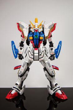 MG 1/100 Shining Gundam Evolve - Customized Build   Modeled by PrimaryMH