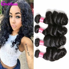 Brazilian Virgin Hair Loose Wave 3 Bundles Rosa http://mobwizard.com/product/7a-brazilian-virgin-32331054344/