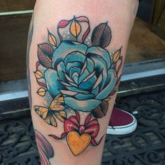 A rose and locket for the lovely Sophie