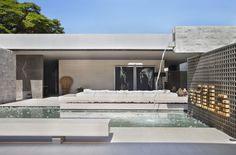 Villa Deca is an elegant home designed by Guilherme Torres for Casa Cor 2014. The home is located in São Paulo, Brazil.
