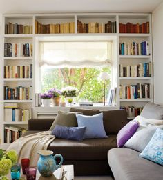 Home Library Room Dreams Study Ideas Home Library Rooms, Home Libraries, Corner Bookshelves, Bookcase, Bookshelf Ideas, Bookshelf Styling, Living Room Decor, Living Spaces, Living Area