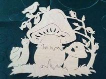 hříbečky Paper Stars, Art School, Snowman, Stencils, Xmas, Education, Women, Mushroom, Fall Halloween