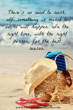 Don't worry - If it's meant to be then it will happen at the right time.✭Pinterest Consultant Vancouver✭