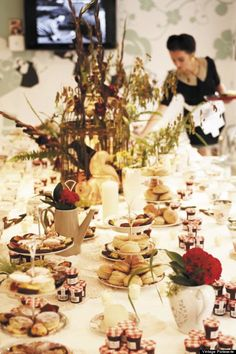 vintage tea party for a #hen party?