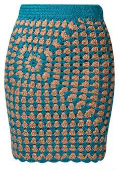 Unique skirt Love it SURI - Mini skirt - petrol