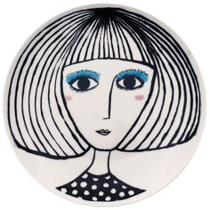 The Guardian - Space Edit - 10 Best Monochrome Plates - featuring our turquoise eyeshadow lady by Katy Leigh