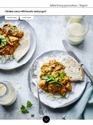 The Waitrose Guide Yogurt: Chicken curry with tomato and yogurt Yogurt Chicken, Chicken Curry, Curries, Tacos, Ethnic Recipes, Food, Curry, Essen, Meals